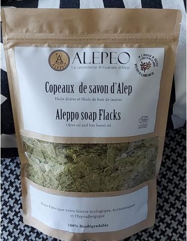 Paillette de savon d'Alep pour faire votre lessive écologique