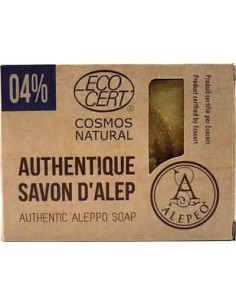 Savon d'Alep Traditionnel Certifié 4%