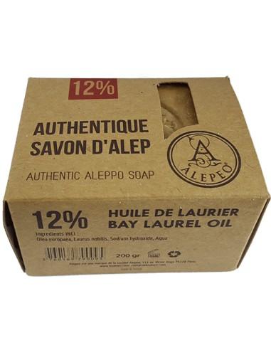 Savon d'Alep Traditionnel 12% 200* g