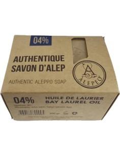Alepeo Savon d'Alep Traditionnel 4%