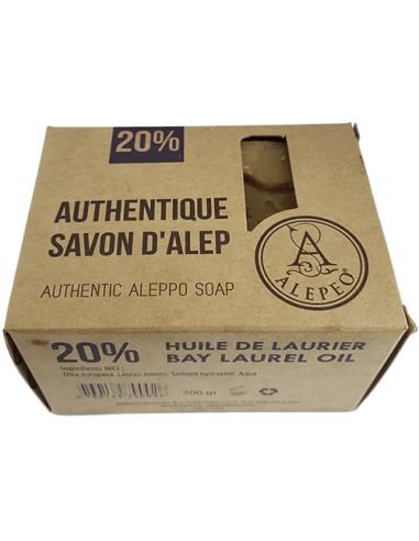 Savon d'Alep Traditionnel 20% 200gr