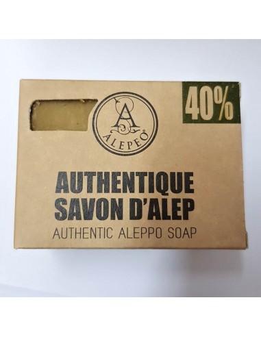 Savon d'Alep Traditionnel 40% 200gr