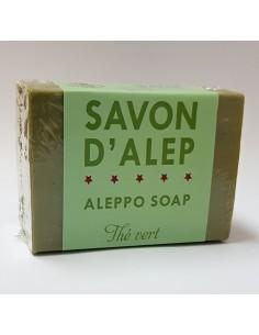 Savon d'Alep au thé vert 170g
