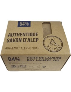 Alepeo Savon d'Alep Traditionnel 4%